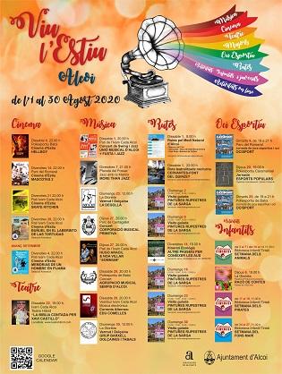 Cinema, música, teatre, rutes i jocs populars, aquesta setmana en les activitats de Viu l'Estiu a Alcoi