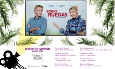 """""""Cinema al Carrer"""" d'Elx s'adapta a les noves normes sanitàries derivades de la covid-19"""