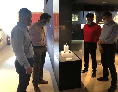 El MARQ reuneix per primera vegada a Callosa de Segura la col·lecció de Bous del Argar trobats en Vessants del Castell