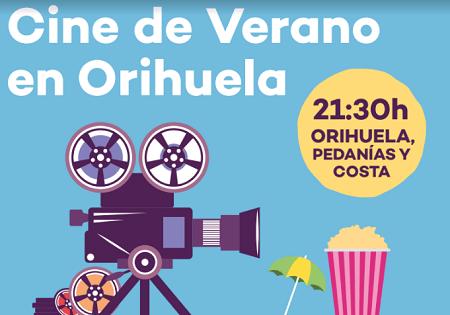 Juventud lleva a Orihuela, costa y pedanías una nueva edición del Cine de Verano