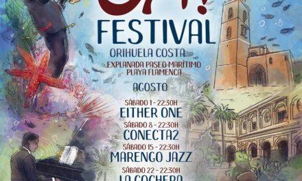 """Turisme i Festivitats organitzen """"OH! Festival"""", una programació d'activitats musicals per a les nits de dissabte d'agost en Oriola Costa"""