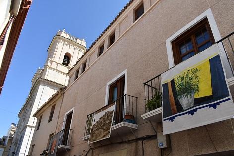 Petrer inaugurarà setembre omplint d'art els balcons del centre històric