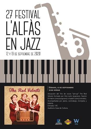 Este sábado llega la 27 edición del Festival 'l'Alfàs en Jazz'