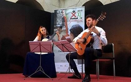 El 'Dúo Atlas' abre el XXII Festival de Guitarra 'Ciutat d'Elx' este viernes