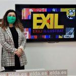 Juventud de Elda organiza en los Salones Princesa la exposición 'Exili il·lustrat' que reúne 36 retratos de personajes vinculados con el exilio