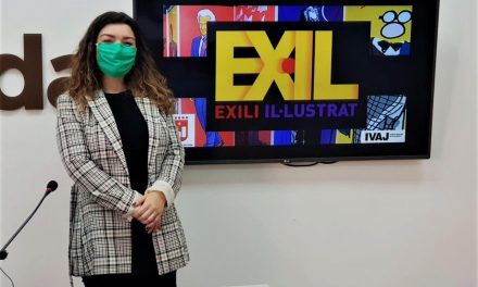 Joventut d'Elda organitza en els Salons Princesa l'exposició 'Exili il·lustrat' que reuneix 36 retrats de personatges vinculats amb l'exili