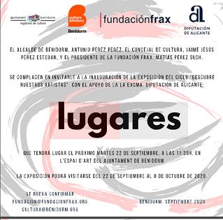 """La Fundación Frax expone en Benidorm su muestra """"Lugares"""", con obras de 24 artistas"""