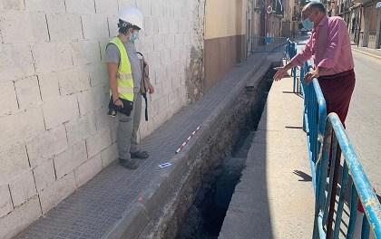 L'Ajuntament d'Oriola troba noves restes d'estructures medievals entre les quals es troba part del llenç de la muralla islàmica