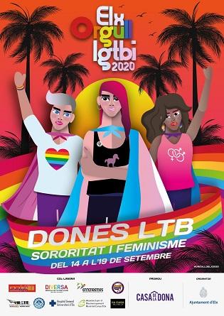 La semana del Orgullo LGTBI de Elche pone el foco reivindicativo sobre las mujeres del colectivo