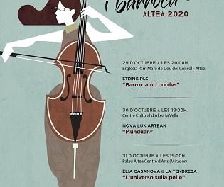 El festival «Música Antiga i Barroca» d'Altea inclou un concert teatralitzat per a públic familiar