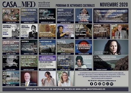 Casa Mediterráneo traslada a la ciudadanía a los orígenes de su sede con visitas guiadas en su agenda de noviembre