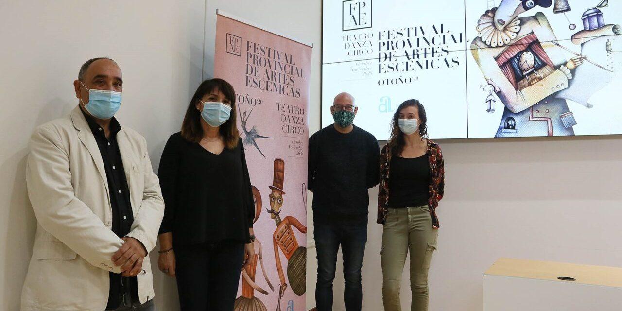 El primer Festival de Artes Escénicas de la Diputación distribuye 280.000 euros para paliar los efectos de la crisis en la cultura