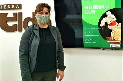 L'Ajuntament d'Elda se suma a la celebració del Dia de les Biblioteques amb la presentació de l'última novel·la d'Elia Barceló