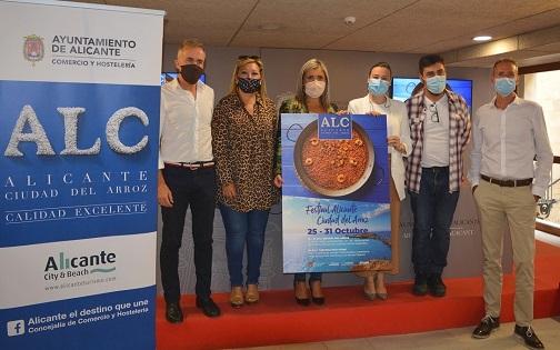"""Turismo y Hostelería organizan el """"Festival Alicante Ciudad del arroz"""" con un programa de actos del 19 al 31 de octubre en homenaje a nuestro producto estrella"""