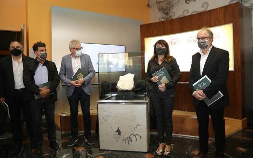 El MARQ inaugura la mostra 'El cavaller de Ifach' amb una peça del segle XIV trobada en el jaciment