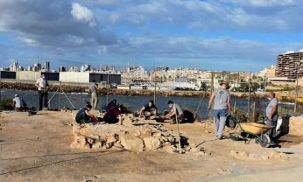 Las excavaciones del MARQ en la Illeta hallan indicios de instalaciones para la conservación del pescado de la época prerromana