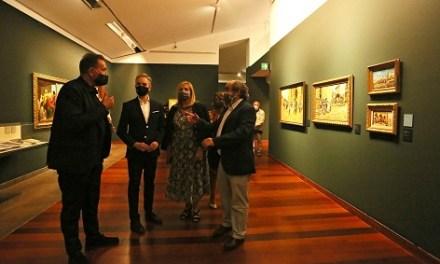 El MUBAG recupera la figura de Agrasot en tota la seua extensió amb un centenar d'obres de les seues diferents disciplines