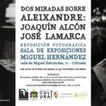 Inauguración de una exposición fotográfica sobre Vicente Aleixandre en la sala del Rincón Hernandiano