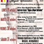 Eusebio Pérez Oca ofrecerá este próximo lunes una conferencia sobre Miguel Hernández en la Biblioteca Pública Municipal María Moliner de Orihuela