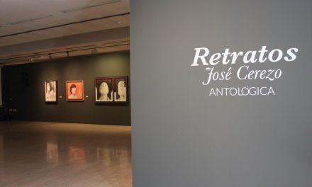 José Cerezo exhibeix «Retrats. Antològica» en el Museu de la Universitat d'Alacant
