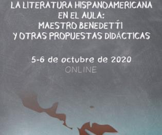"""La Universitat d'Alacant dedica un seminari a """"La Literatura Hispanoamericana a l'Aula: Maestro Benedetti i altres Propostes Didàctiques"""""""