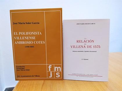El Ayuntamiento de Villena y Fundación José María Soler reeditan la obra agotada 'Relación de Villena de 1575', primer intento de censo de municipios en el reinado de Felipe II