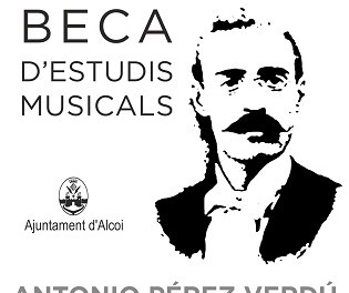 El Ayuntamiento de Alcoy convoca la Beca de Estudios Musicales Antonio Pérez Verdú
