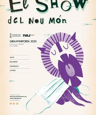 El nuevo espectáculo de Escena Erasmus de la Universitat de València llega al Teatro Calderón  de Alcoy el próximo jueves