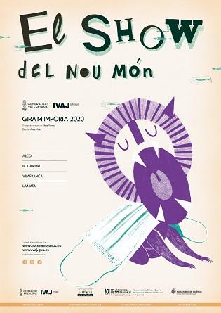 El nou espectacle d'Escena Erasmus de la Universitat de València arriba al Teatre Calderón d'Alcoi el pròxim dijous