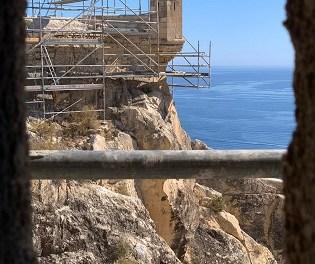 La restauració del Baluard de la Mina del castell de Santa Bàrbara permetrà visitar-lo a partir de la primavera de 2021