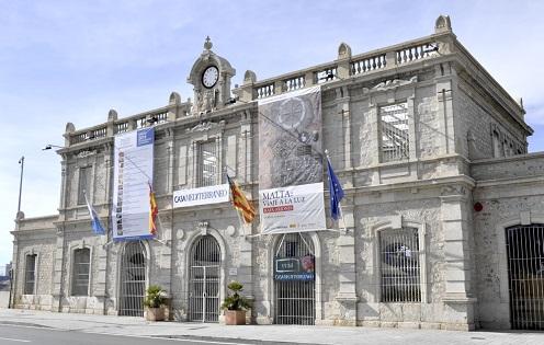 Visites guiades a l'Antiga Estació de Benalúa, seu de Casa Mediterráneo