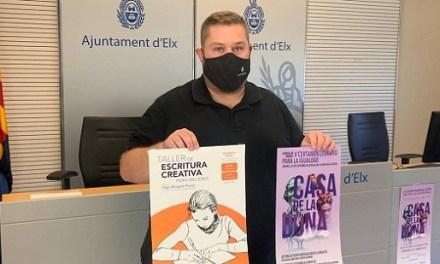 Igualdad de Elche reanuda a partir del lunes las actividades de la Semana de las Escritoras para visibilizar el papel de la mujer sobre las letras