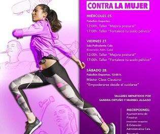 """Finestrat organitza un programa de tallers titulats """"Dona i esport"""" amb motiu del 25n"""