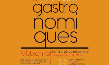 Tornen les 12a Jornades Gastronòmiques de Mutxamel del 12 al 22 de novembre