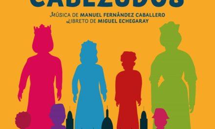 """La sarsuela """"Gigantes y Cabezudos"""" en el Teatre Chapí de Villena"""