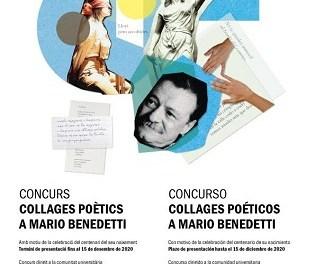 La Universidad de Alicante lanza el concurso Collages poéticos a Mario Benedetti