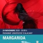 La Universidad de Alicante conmemora el 25 N con el montaje teatral «Margarida»
