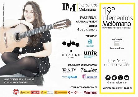 El Auditorio de la Diputación acoge un año más el premio nacional de Interpretación Intercentros Melómano