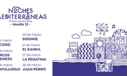 Noches Mediterráneas vuelve al Puerto: a partir de marzo, Juan Perro, La Pegatina o El Kanka devolverán la música en directo a la ciudad de Alicante