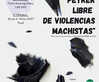 Irene Berenguer Morant i Sara Martínez Martínez, guanyadores del primer Concurs de relats curts contra la violència de gènere de Petrer