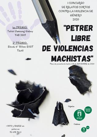Irene Berenguer Morant y Sara Martínez Martínez, ganadoras del primer Concurso de relatos cortos contra la violencia de género de Petrer