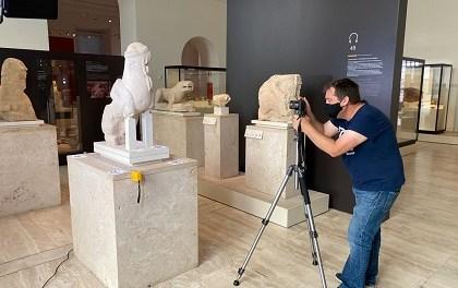 Patrimoni Virtual de la Universitat d'Alacant reprodueix, per mitjà de 3D, les dues esfinxs ibèriques originàries d'Agost