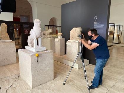 Patrimonio Virtual de la Universidad de Alicante reproduce, por medio de 3D, las dos esfinges ibéricas originarias de Agost