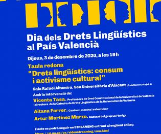 La Universitat d'Alacant commemora el 'Dia dels Drets Lingüístics'