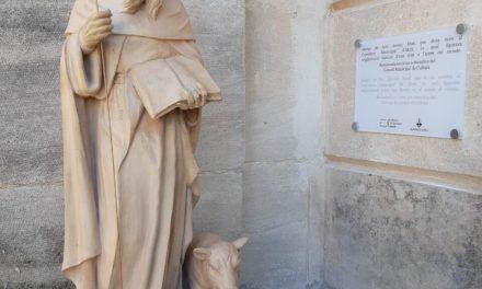 L'Ajuntament d'Alcoi restaura la imatge de Sant Antoni Abat del Cementeri