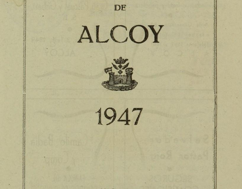 BIVIA de Alcoy comienza la difusión de las obras del patrimonio bibliográfico local en dominio público