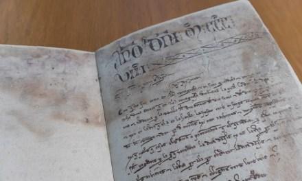 El Archivo Municipal de Alcoy restaura dos «Llibres de Cort de Justícia» de principios del siglo XIV