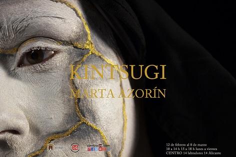 """El Centro 14 acoge la exposición """"Kintsugi"""" de la artista Marta Azorín Micó"""
