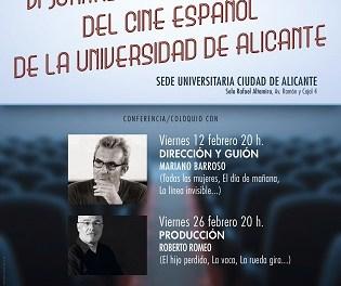 """Comienzan las """"VI Jornadas Profesionales del Cine Españolˮ en la Universidad de Alicante"""