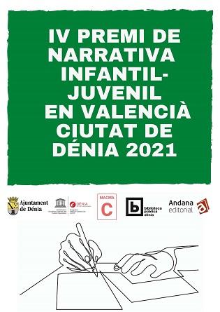 L'Ajuntament de Dénia convoca el IV Premi de narrativa infantil-jove en valencià